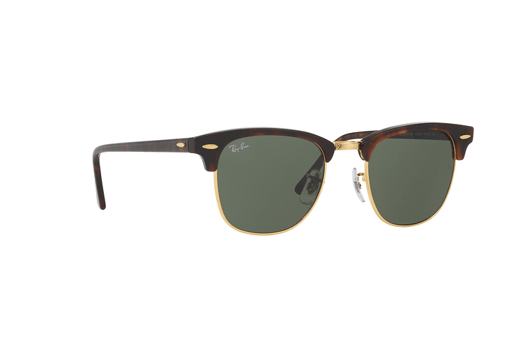 Ray-Ban Clubmaster Mock Tortoise lente Green cod. RB3016 W0366 51 - Image 11
