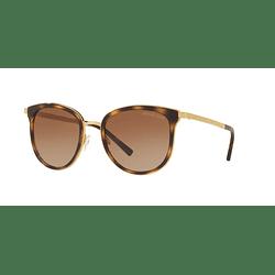 Michael Kors Adrianna III Dark Tortoise/Gold lente Brown Gradient cod. MK1010 110113 54
