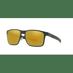 Oakley Holbrook Metal Matte Black lente 24K Iridium cod. OO4123-1355