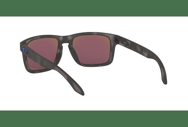 0915fee322 Oakley Holbrook Matte Black Tortoise lente Sapphire Prizm y Polarized cod.  OO9102-G755 -
