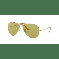 Ray Ban Aviador Gold lente Green Fotocromáticos cod. RB3025 90644C 58