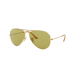Ray Ban Aviador Gold lente Green Fotocromáticos cod. RB3025 90644C 58