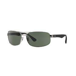 Ray Ban Active RB3445 Gunmetal lente Green cod. RB3445 004 64
