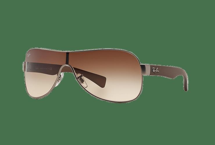 Ray-Ban Monolente RB3471 Matte Gunmetal lente Brown Gradient cod. RB3471 029/13 32 - Image 1