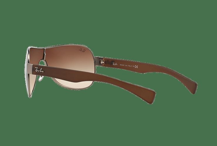 Ray-Ban Monolente RB3471 Matte Gunmetal lente Brown Gradient cod. RB3471 029/13 32 - Image 4