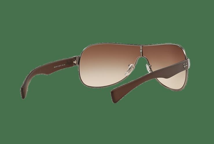 Ray-Ban Monolente RB3471 Matte Gunmetal lente Brown Gradient cod. RB3471 029/13 32 - Image 7