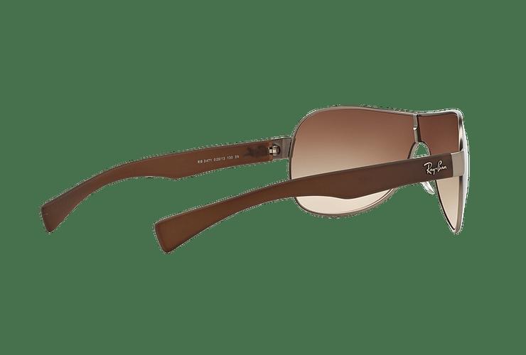 Ray-Ban Monolente RB3471 Matte Gunmetal lente Brown Gradient cod. RB3471 029/13 32 - Image 8