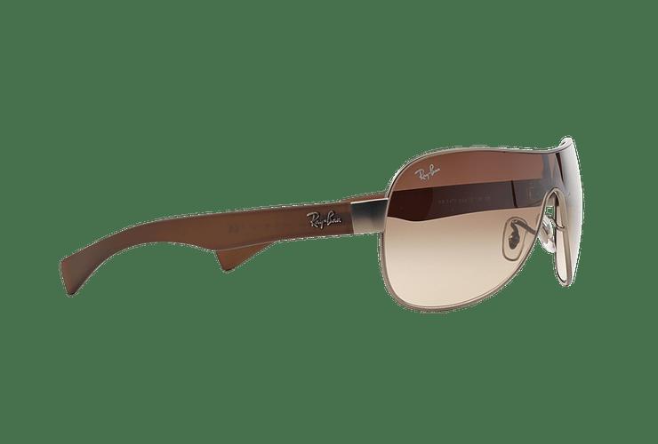 Ray-Ban Monolente RB3471 Matte Gunmetal lente Brown Gradient cod. RB3471 029/13 32 - Image 10