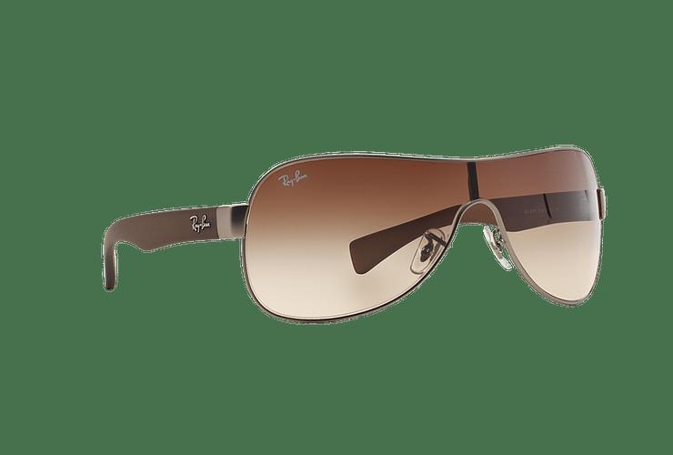 Ray-Ban Monolente RB3471 Matte Gunmetal lente Brown Gradient cod. RB3471 029/13 32 - Image 11