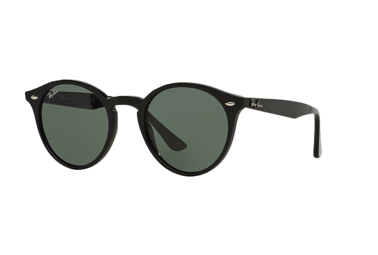 Ray Ban Round RB2180 Black lente Green / Grey cod. RB2180 601/71 49 - Image 1