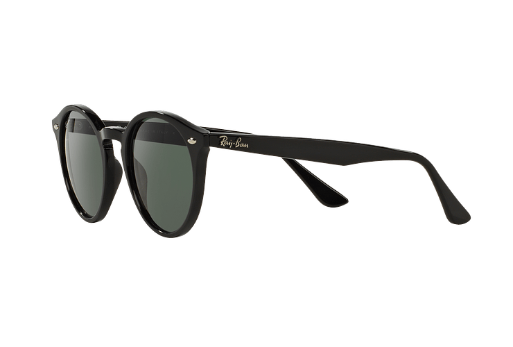 Ray Ban Round RB2180 Black lente Green / Grey cod. RB2180 601/71 49 - Image 2
