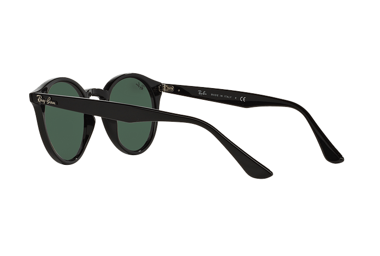 Ray Ban Round RB2180 Black lente Green / Grey cod. RB2180 601/71 49 - Image 4