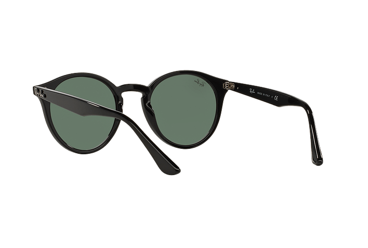 Ray Ban Round RB2180 Black lente Green / Grey cod. RB2180 601/71 49 - Image 5