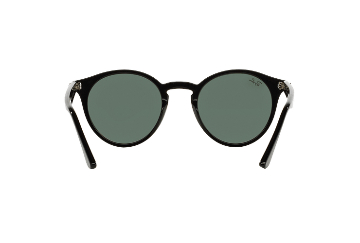Ray Ban Round RB2180 Black lente Green / Grey cod. RB2180 601/71 49 - Image 6