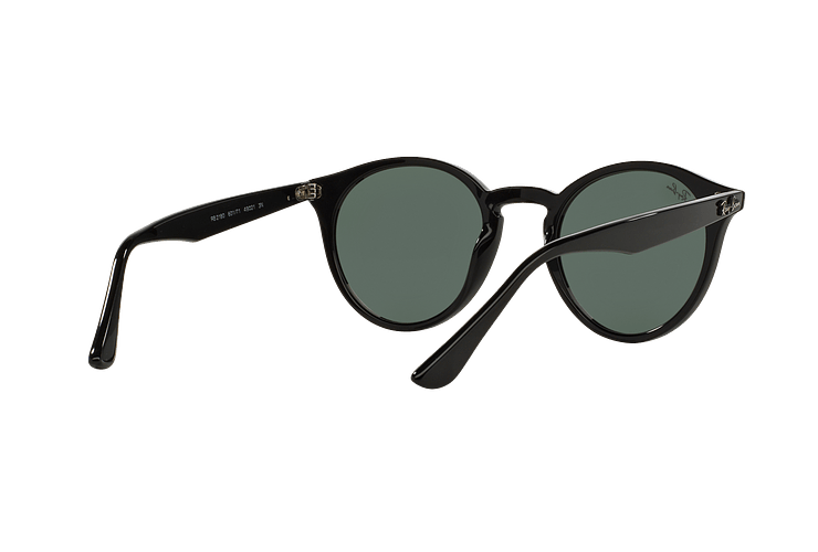 Ray Ban Round RB2180 Black lente Green / Grey cod. RB2180 601/71 49 - Image 7