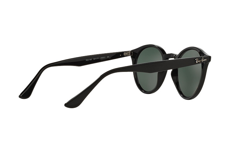 Ray Ban Round RB2180 Black lente Green / Grey cod. RB2180 601/71 49 - Image 8
