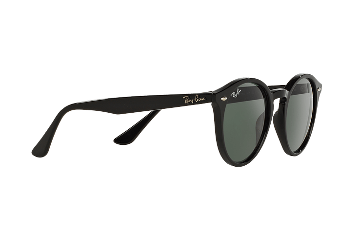 Ray Ban Round RB2180 Black lente Green / Grey cod. RB2180 601/71 49 - Image 10