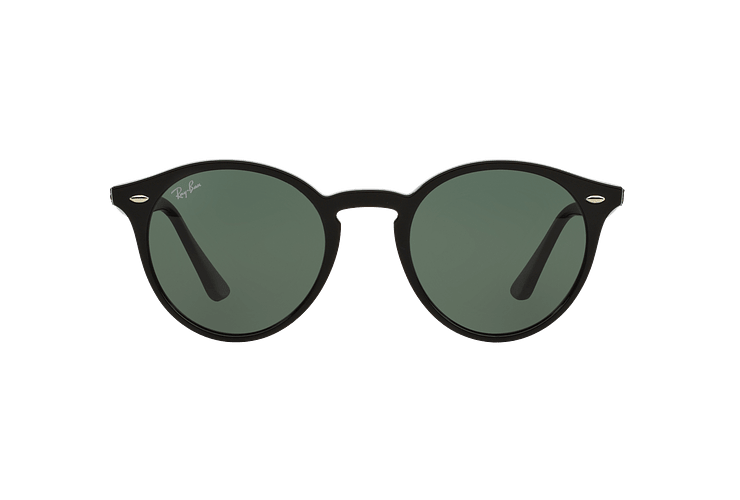 Ray Ban Round RB2180 Black lente Green / Grey cod. RB2180 601/71 49 - Image 12