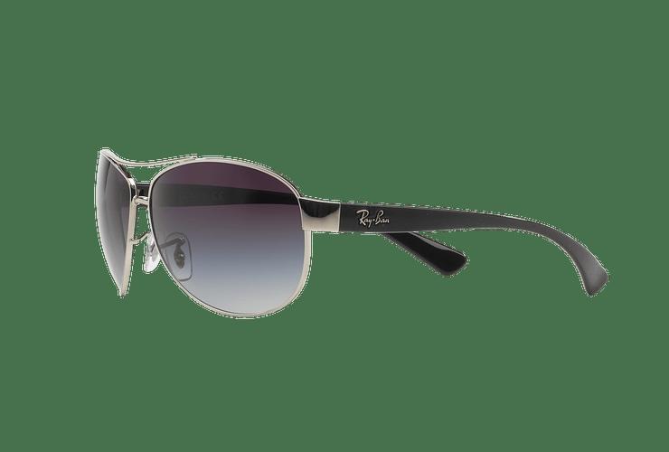 Ray Ban Aviador Ovalado RB3386 Silver lente Grey Gradient cod. RB3386 003/8G 63 - Image 2