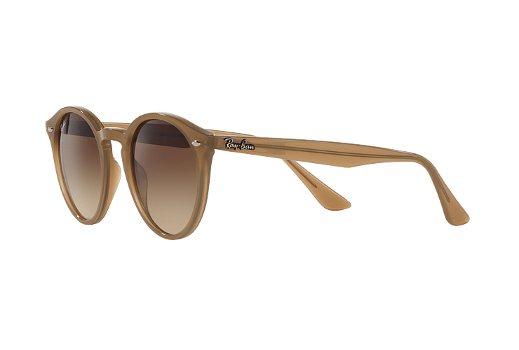 Ray Ban Round RB2180 Turtledove lente Brown Gradient cod. RB2180 616613 49 - Image 2
