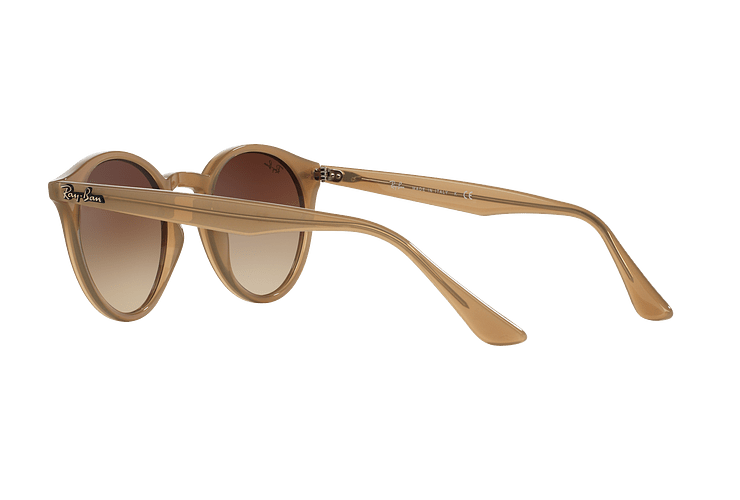 Ray Ban Round RB2180 Turtledove lente Brown Gradient cod. RB2180 616613 49 - Image 4