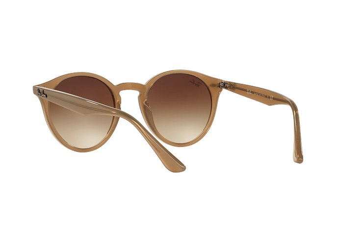Ray Ban Round RB2180 Turtledove lente Brown Gradient cod. RB2180 616613 49 - Image 5