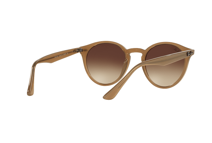 Ray Ban Round RB2180 Turtledove lente Brown Gradient cod. RB2180 616613 49 - Image 7