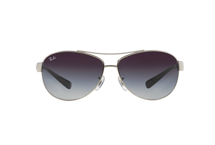 Ray Ban Aviador Ovalado RB3386 Silver lente Grey Gradient cod. RB3386 003/8G 63 - Image 12