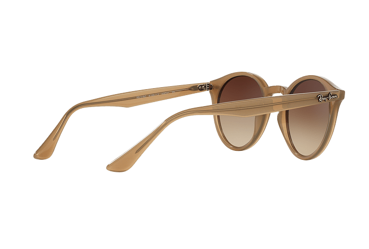 Ray Ban Round RB2180 Turtledove lente Brown Gradient cod. RB2180 616613 49 - Image 8