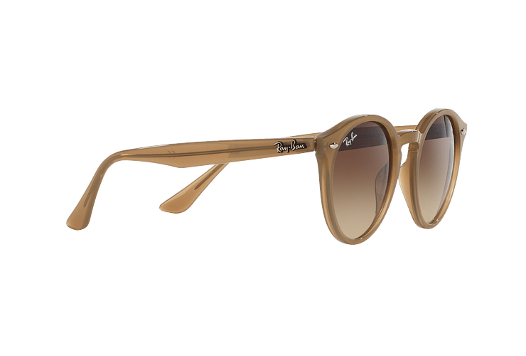 Ray Ban Round RB2180 Turtledove lente Brown Gradient cod. RB2180 616613 49 - Image 10
