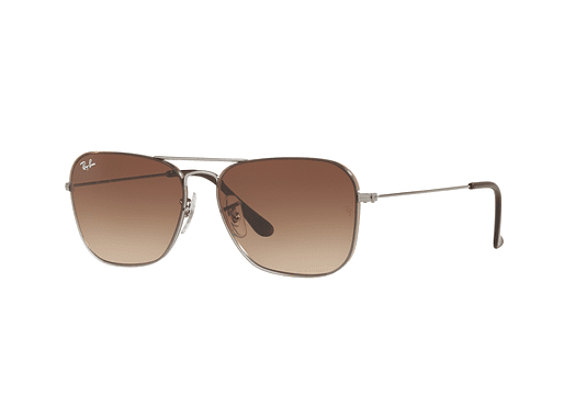 Ray Ban Caravan RB3603 Gunmetal lente Brown Gradient cod. RB3603 004/13 56