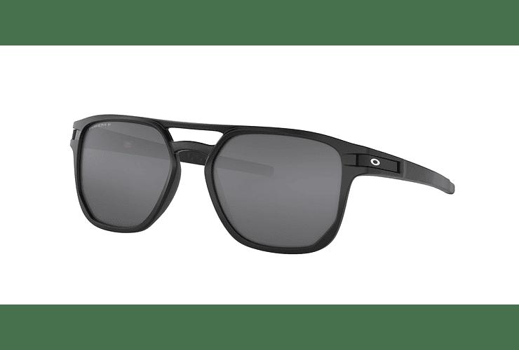cca4e1f120 Oakley Latch Beta Matte Black lente Black Prizm y Polariz...
