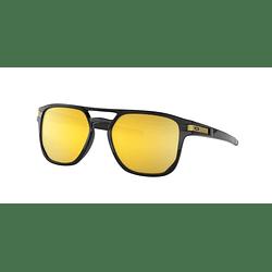 Oakley Latch Beta Polished Black lente 24K Gold Prizm y Polarized cod. OO9436-0454