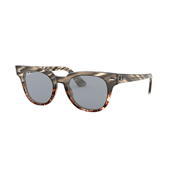Ray Ban Meteor Grey Gradient Brown Stripped lente Blue Fotocromáticos cod. RB2168 1254Y5 50