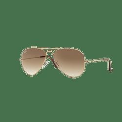Ray Ban Aviador Gold lente Crystal Brown Gradient cod. RB3025 001/51 62