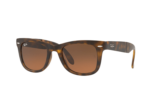 Ray Ban Wayfarer Folding Matte Havana lente Brown gradient cod. RB4105 894/43 50