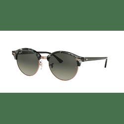Ray Ban Clubround Spotted Grey/Green lente Dark Grey Gradient cod. RB4246 125571 51