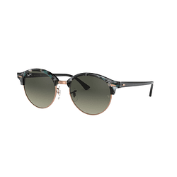 Ray-Ban Clubround Spotted Grey/Green lente Dark Grey Gradient cod. RB4246 125571 51