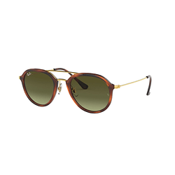 Ray Ban Aviador RB4253 Stripped Havana lente Green Gradient Brown cod. RB4253 820/A6 53