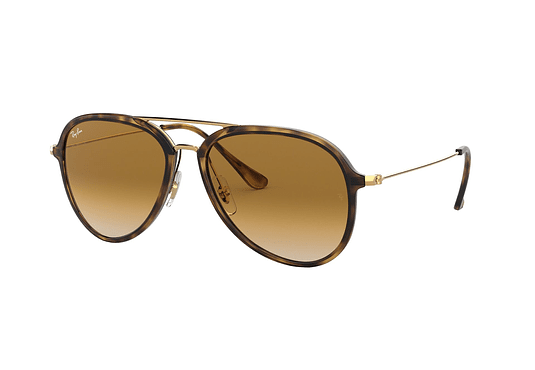 Ray Ban Aviador RB4298 Light Havana lente Crystal Brown Gradient cod. RB4298 710/51 57