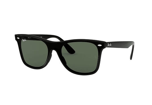 Ray Ban Wafarer RB4440N Blaze Matte Black lente Green cod. RB4440N 601S71 41