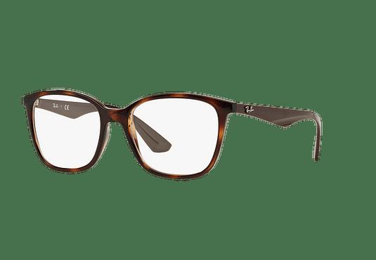 Armazón óptico Ray Ban RX7066 Shiny Havana cod. RX7066 5577 54