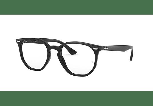 Armazón óptico Ray Ban Hexagonal RX7151 Black cod. RX7151 2000 50