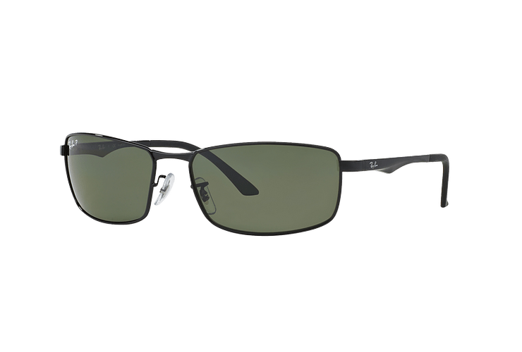 Ray Ban Active RB3498 Black lente Green Polarized cod. RB3498 002/9A 61 - Image 1
