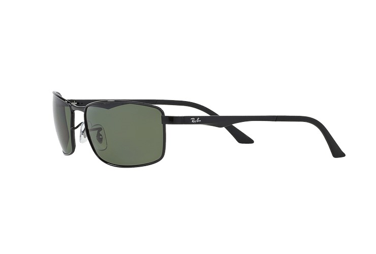 Ray Ban Active RB3498 Black lente Green Polarized cod. RB3498 002/9A 61 - Image 2