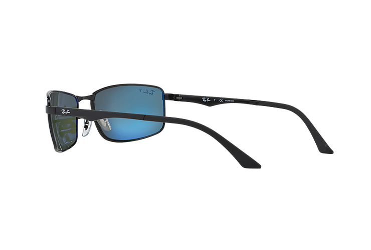 Ray Ban Active RB3498 Black lente Green Polarized cod. RB3498 002/9A 61 - Image 4
