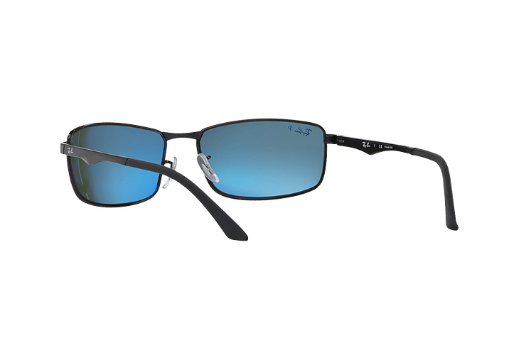 Ray Ban Active RB3498 Black lente Green Polarized cod. RB3498 002/9A 61 - Image 5