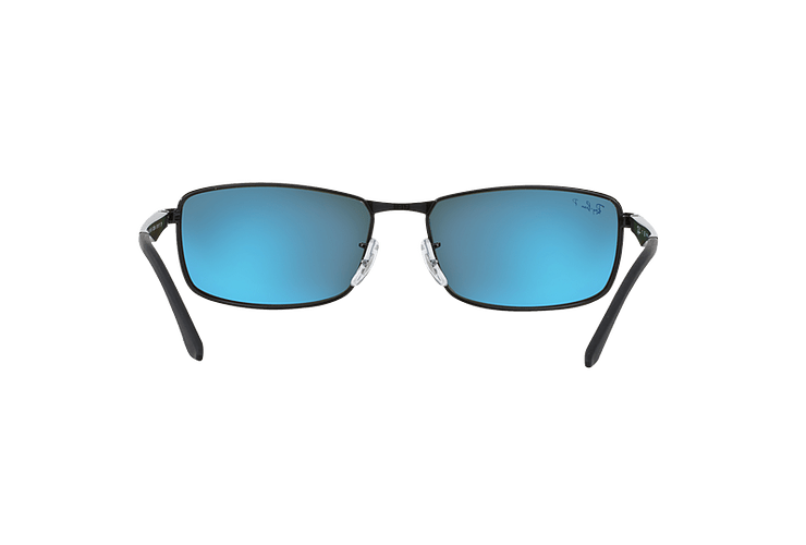 Ray Ban Active RB3498 Black lente Green Polarized cod. RB3498 002/9A 61 - Image 6