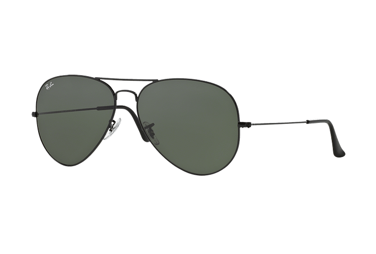 Ray-Ban Aviador Black lente Crystal Green cod. RB3026 L2821 62 - Image 1