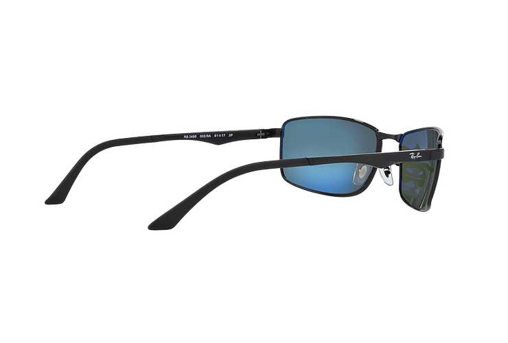 Ray Ban Active RB3498 Black lente Green Polarized cod. RB3498 002/9A 61 - Image 8